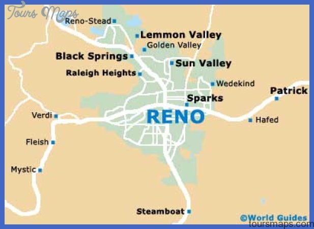 Reno Nevada Casino Map