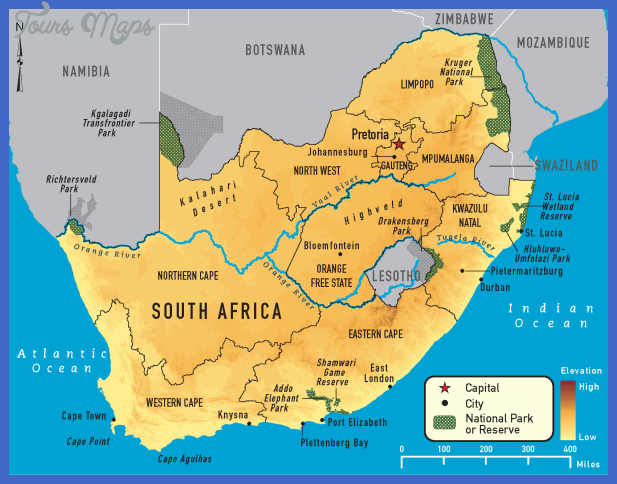 map 4 03 South Africa Map