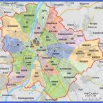 map budapest districts 1 150x150 Budapest Map