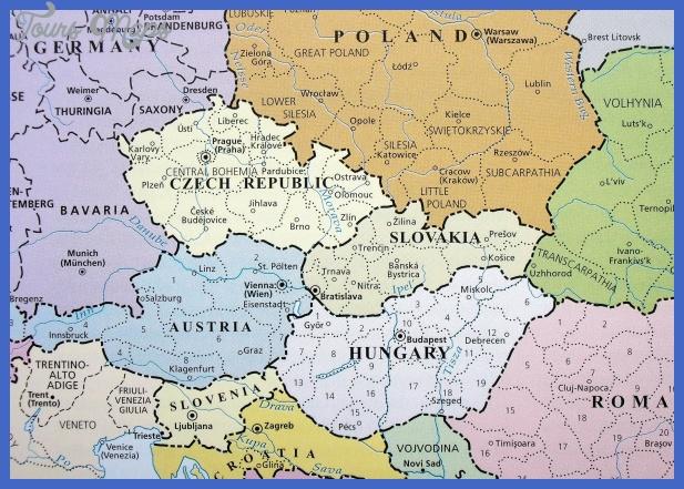 map czech republic Czech Republic Map