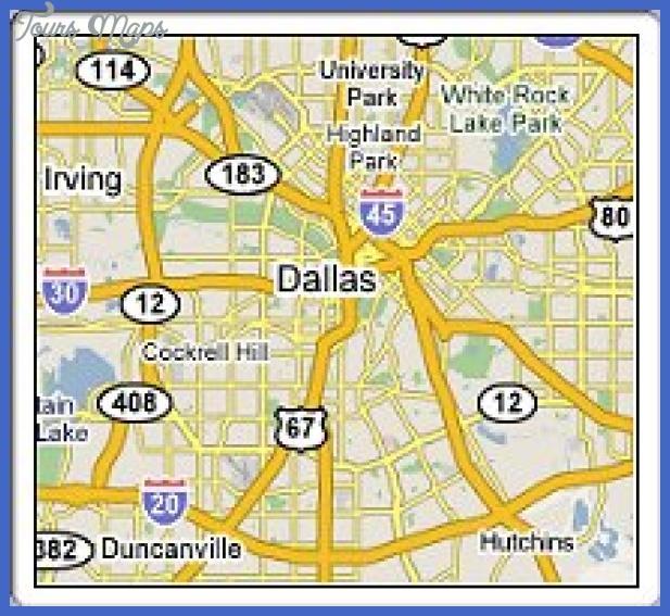 map dallas texas Irving Subway Map