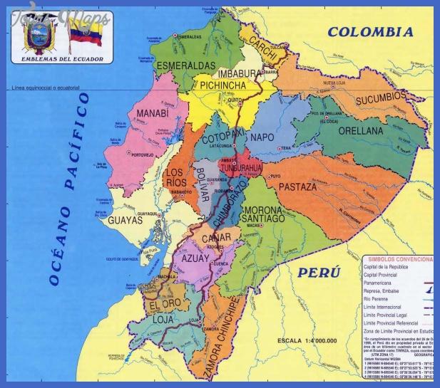 map ecuador big 1 Ecuador Metro Map