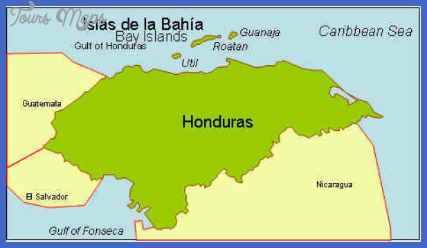 map honduras small Honduras Subway Map