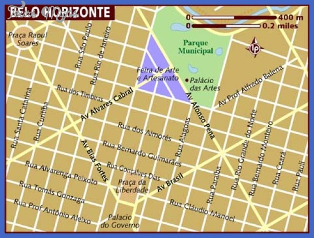 map of belo horizonte Belo Horizonte Map