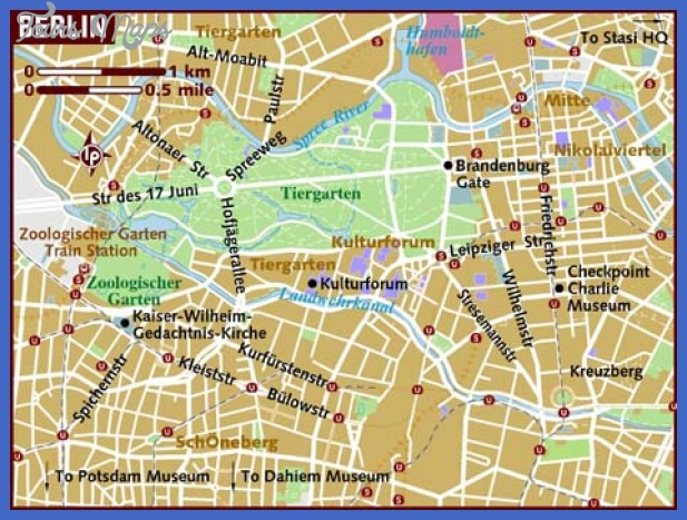 map of berlin Berlin Map