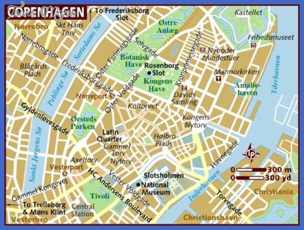 map of copenhagen 1 Copenhagen Subway Map