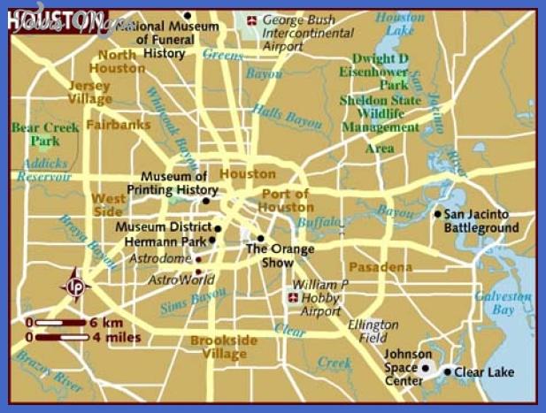 map of houston Houston Map