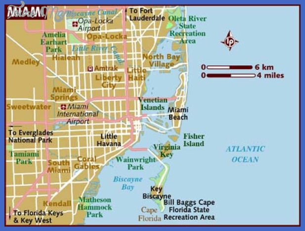 Miami Map Tourist Attractions ToursMapsCom – Tourist Attractions Map In Miami