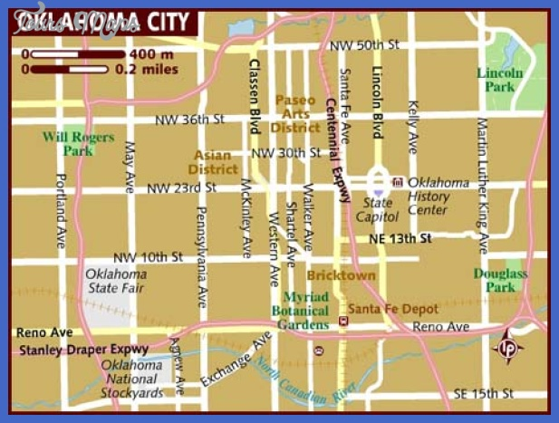 map of oklahoma city Oklahoma City Map