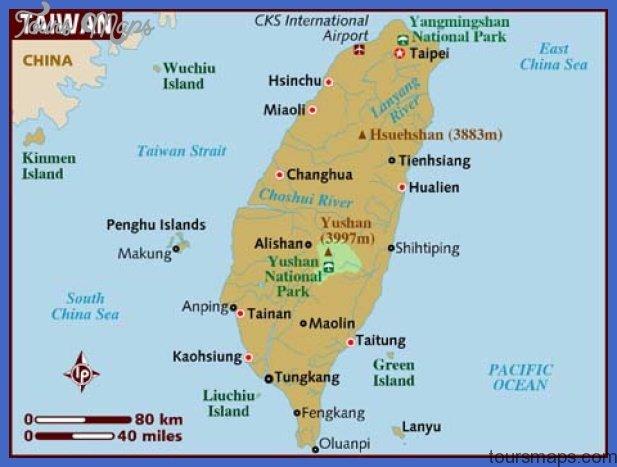 map of taiwan Taiwan Map