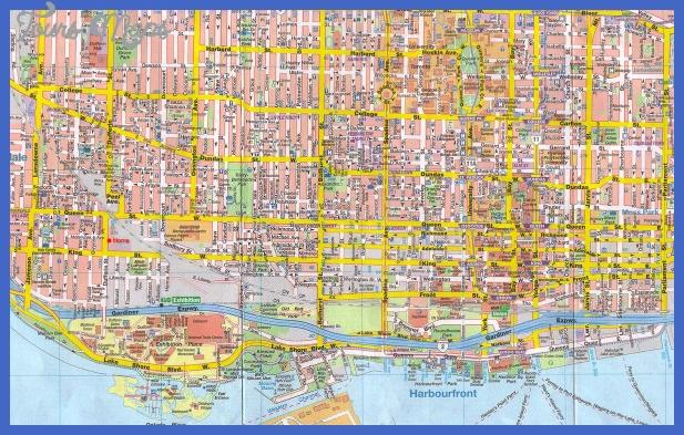 map toronto Toronto Subway Map