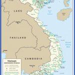 Wietnam Mapa , Mapy Wietnamu | Travelin.pl
