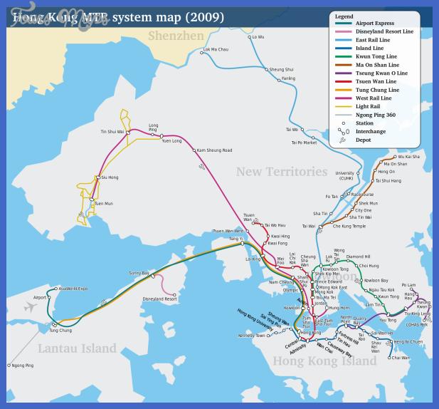 mapa metro hongkong Guinea Subway Map