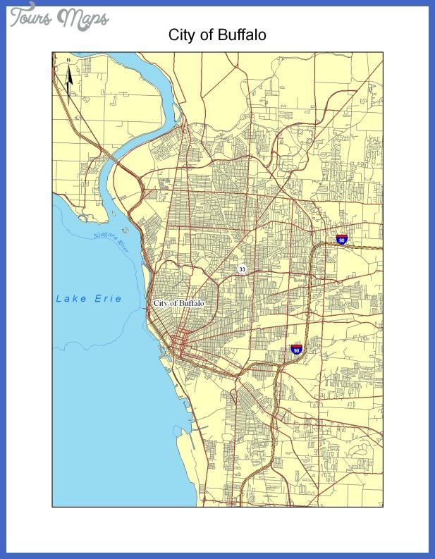 mapofbuffalo Buffalo Map