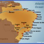 maps of brazil 1 1 150x150 Brazil Map Tourist Attractions