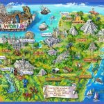 mayan mexico map illustration 150x150 Mexico City Map Tourist Attractions