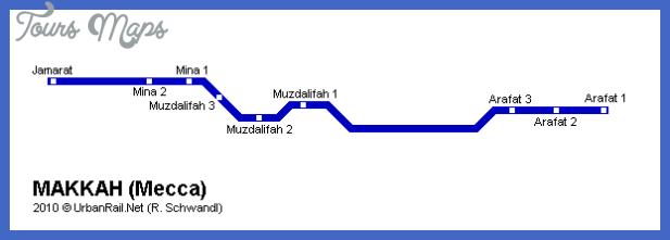 mecca Jeddah Subway Map