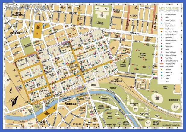 melbourne map 2 Melbourne Map