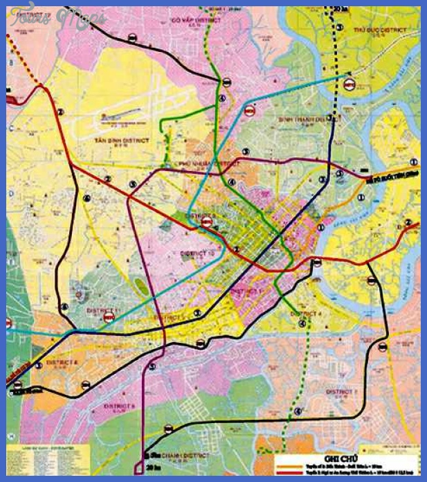 metro ho chi minh city Ho Chi Minh City Metro Map