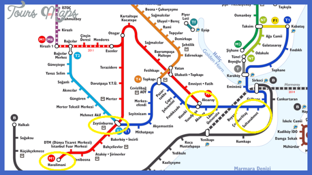 metro map istanbul Istanbul Metro Map