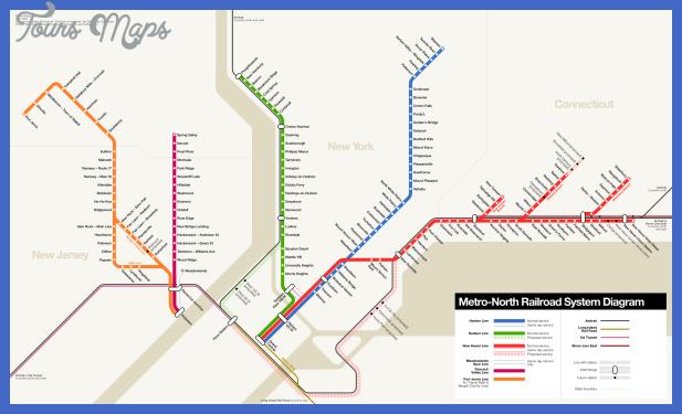 metro north railroad map New York Metro Map