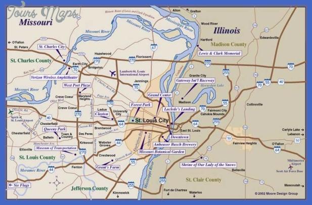 metro st louis map Tampa Metro Map
