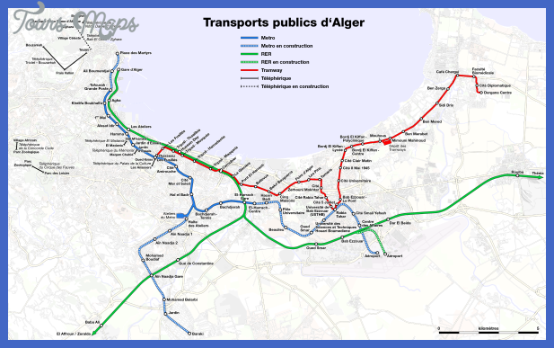 Description Metro, suburban train and tramway map of Algiers.png