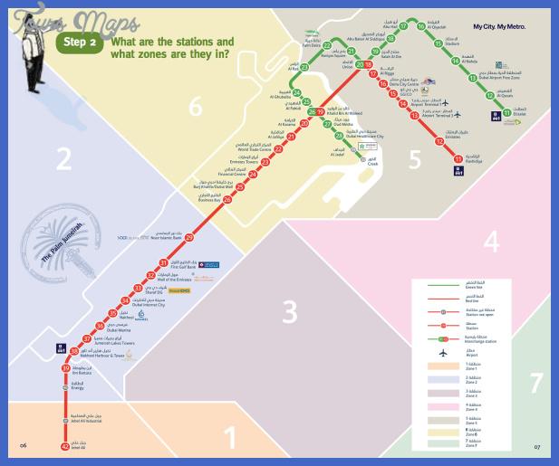 metrokarta dubai 1500px Fresno Subway Map