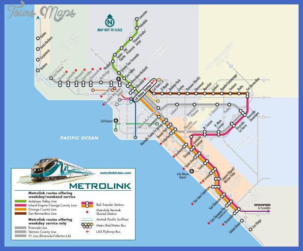 metrolink system map weekend Anaheim Metro Map