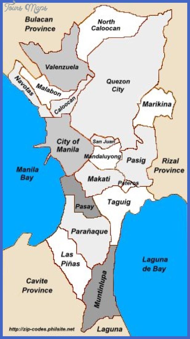 metromanila map Philippines Metro Map