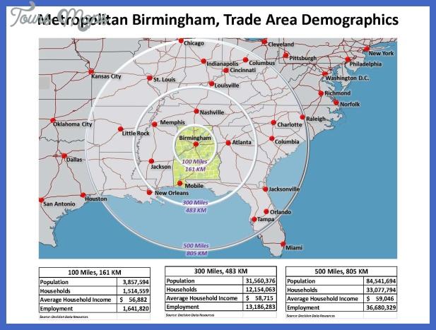 metropolitan birmingham trade area map Birmingham Metro Map