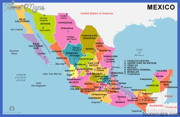 mexico maps w stats Mexico Map