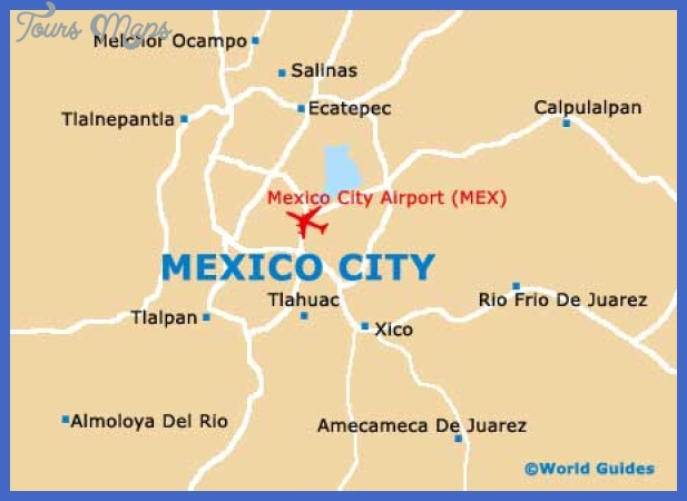 mexico city city map Mexico City Map