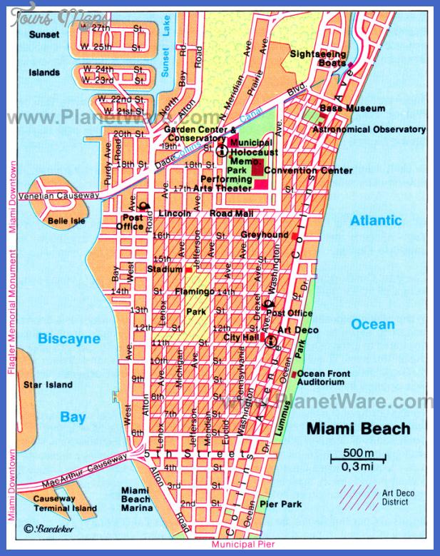 miami map  1 Miami Map
