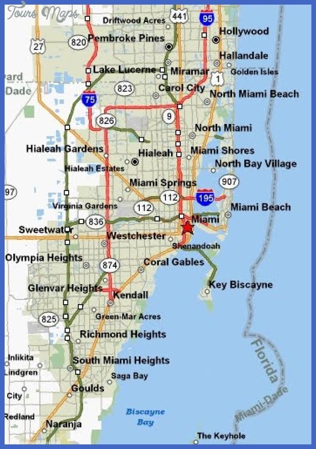 miami map Miami Map