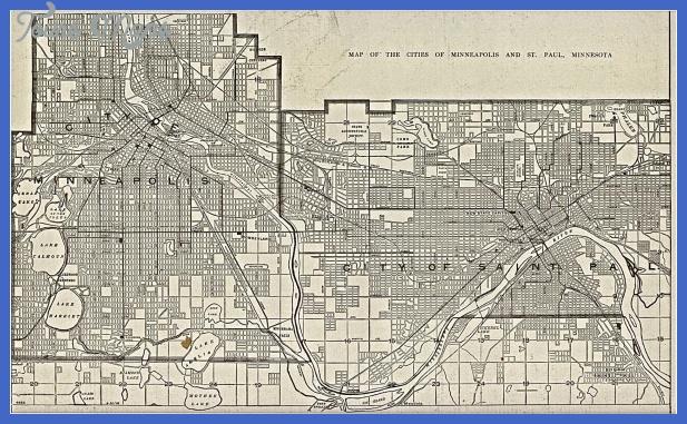 minneapolis map 2 Minneapolis Map