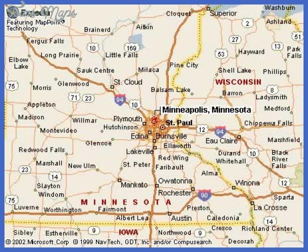 minneapolismn Minneapolis Map