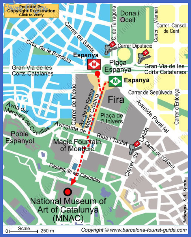mnac Senegal Map Tourist Attractions