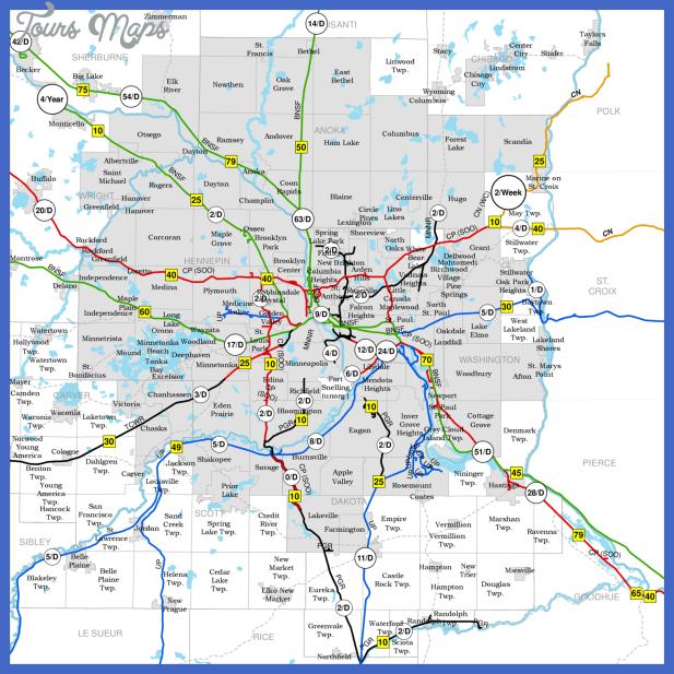 mndot msp rail map may 2013 crushed Minneapolis Metro Map
