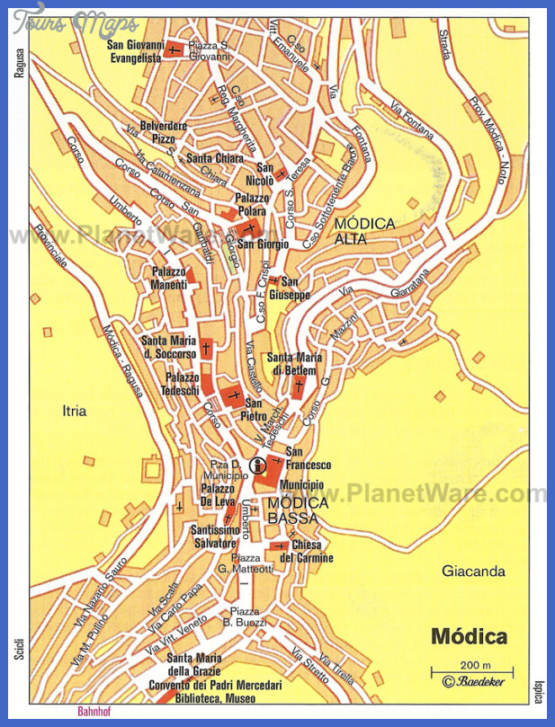 modica map Niger Map Tourist Attractions