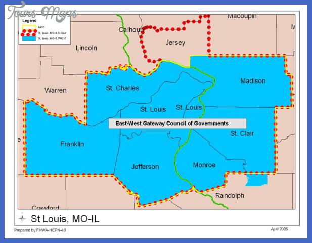 moil stlouis St. Louis Map
