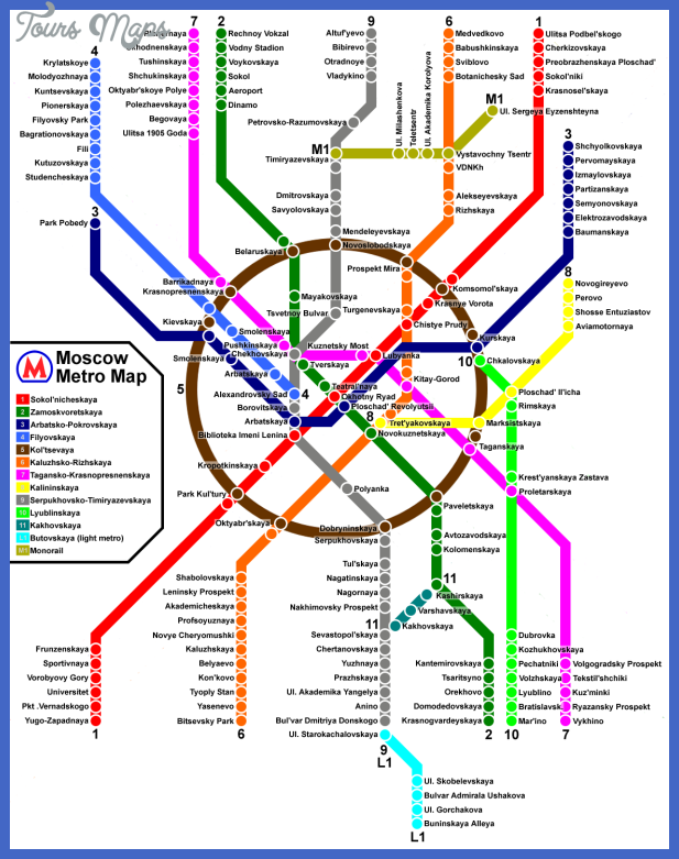 moscow metro map  4 Moscow Metro Map