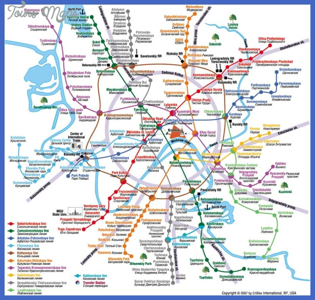 moscow metro map Moscow Metro Map