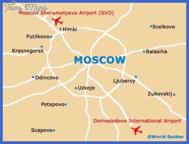 moscow city map Moscow Map