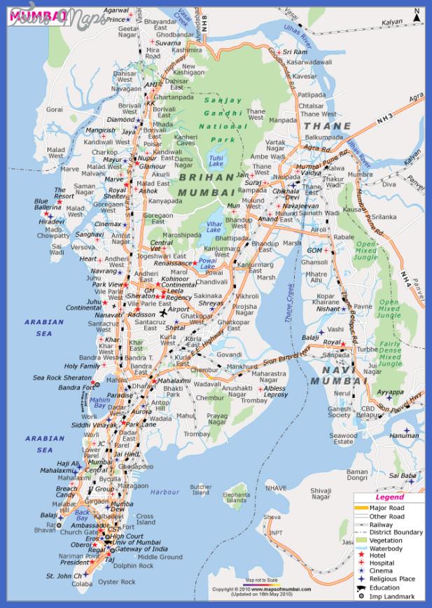 mumbai city map Mumbai Metro Map