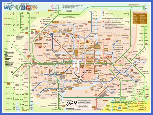 munich metro map  22 Munich Metro Map