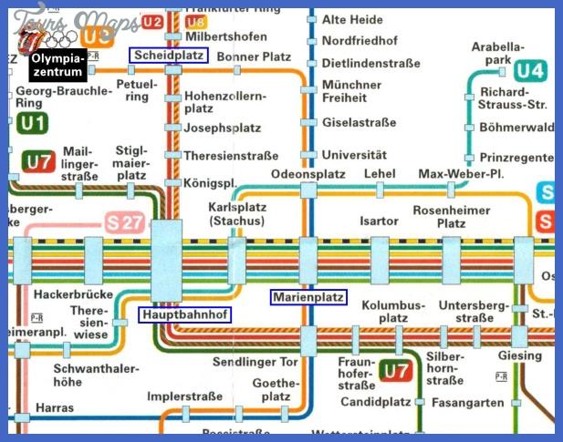 munich1 Munich Metro Map