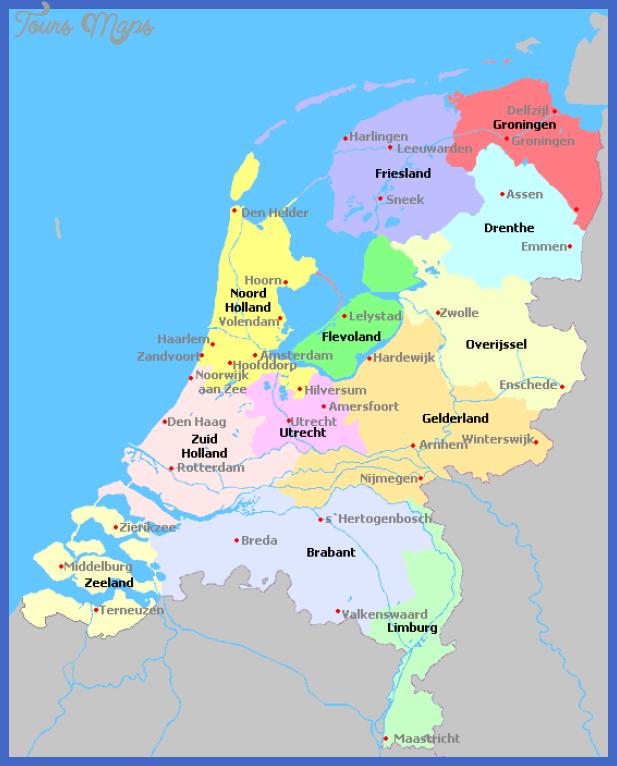 netherlands Netherlands Map