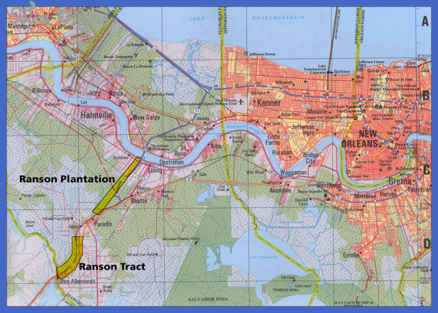 new orleans tourist map 3 New Orleans Subway Map