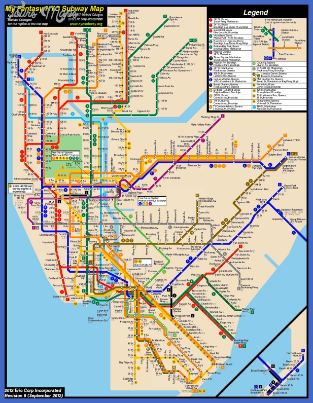 Nyc Subway Map Planner